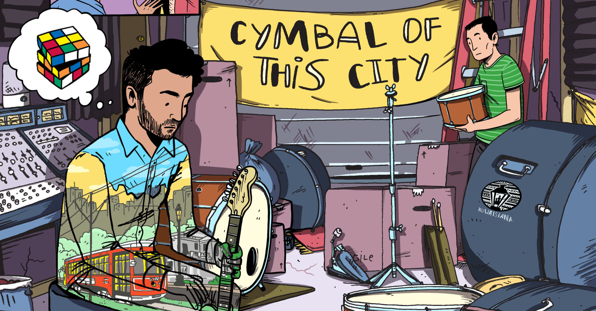 Cymbal of this City Single Art